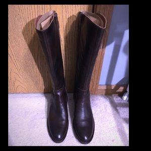Born Cupra Brown Leather Boots